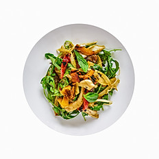 Grilled Fennel and Bell Pepper Salad