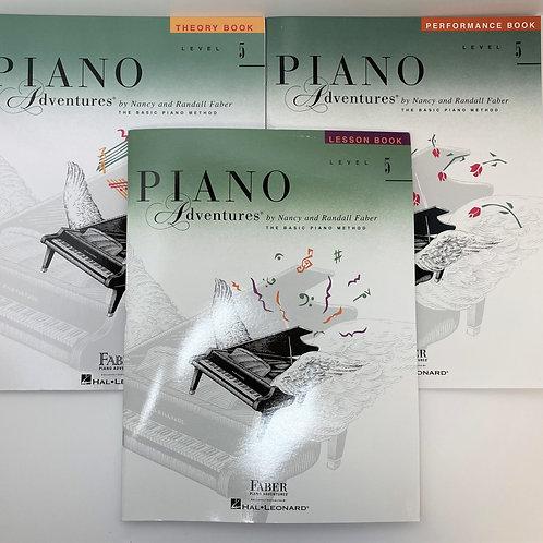Faber Piano Adventures Level 5