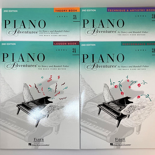 Faber Piano Adventures Level 3A