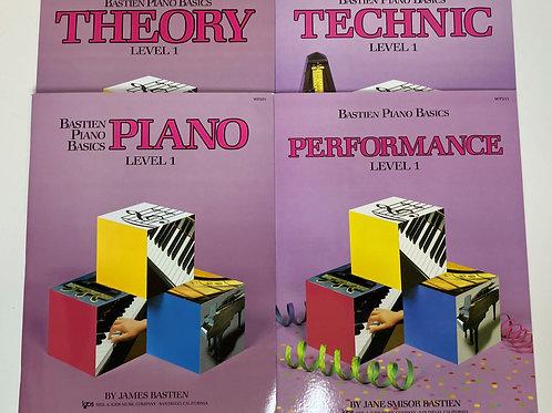 Bastien Piano Basics Level 1