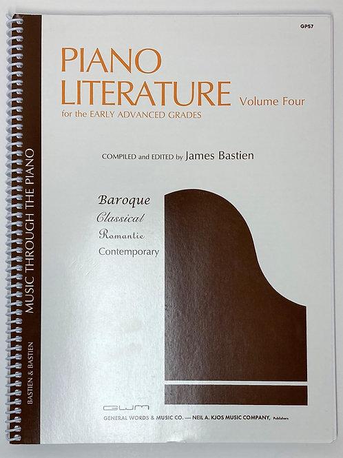 Bastien Piano Literature Volume 4