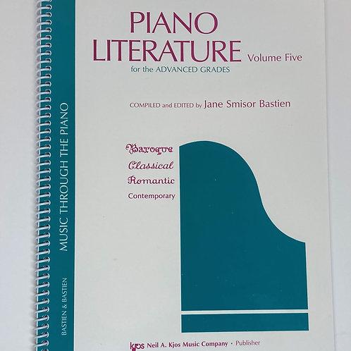 Bastien Piano Literature Volume 5