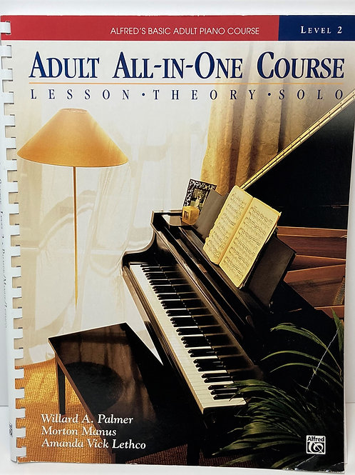 Alfred's Adult All-in-One Course Book 2