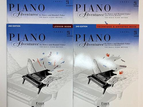 Faber Piano Adventures Level 2A