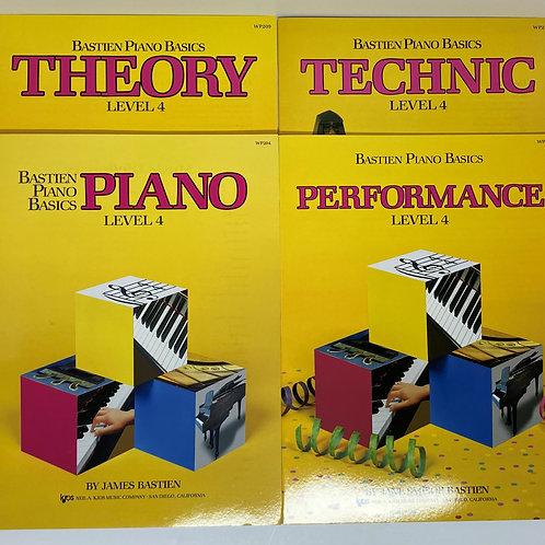 Bastien Piano Basics Level 4
