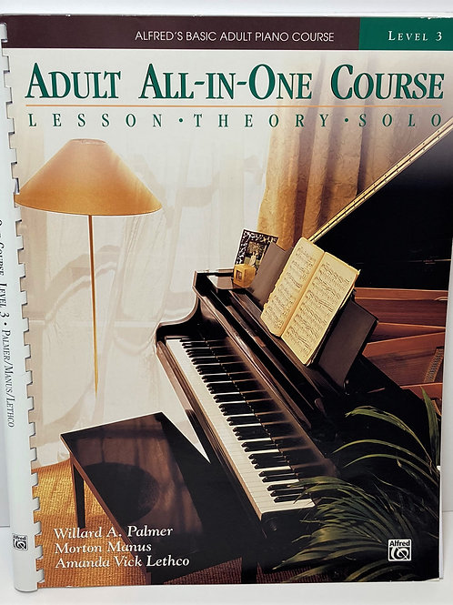 Alfred's Adult All-in-One Course Book 3