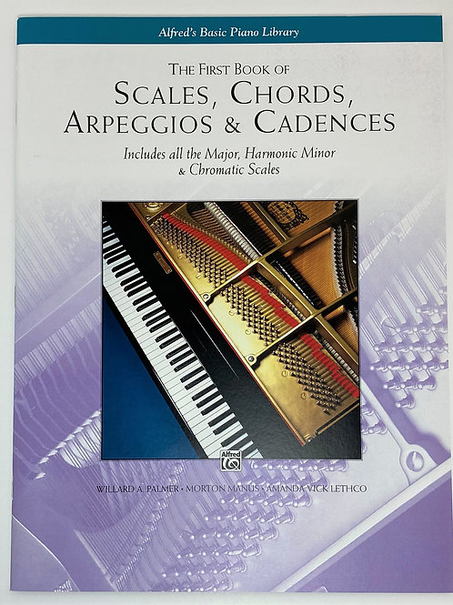 The First Book Of Scales, Chords, Arpeggios