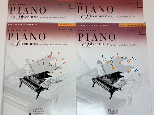 Faber Accelerated Piano Adventures Level 2