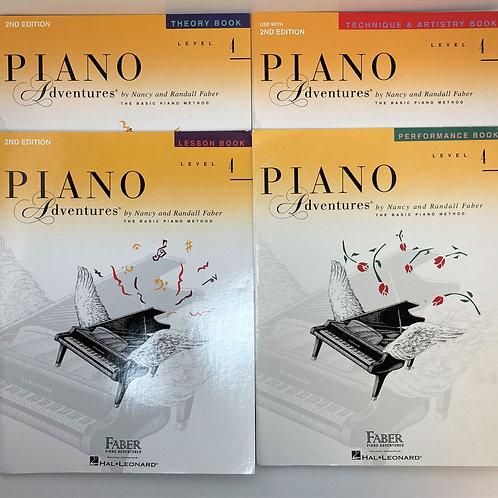 Faber Piano Adventures Level 4