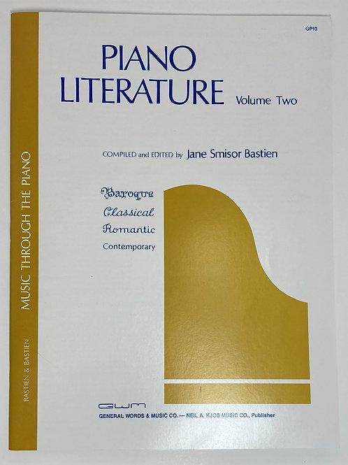Bastien Piano Literature Volume 2