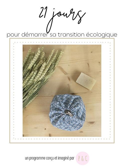 Programme - 21 jours pour démarrer sa transition écologique