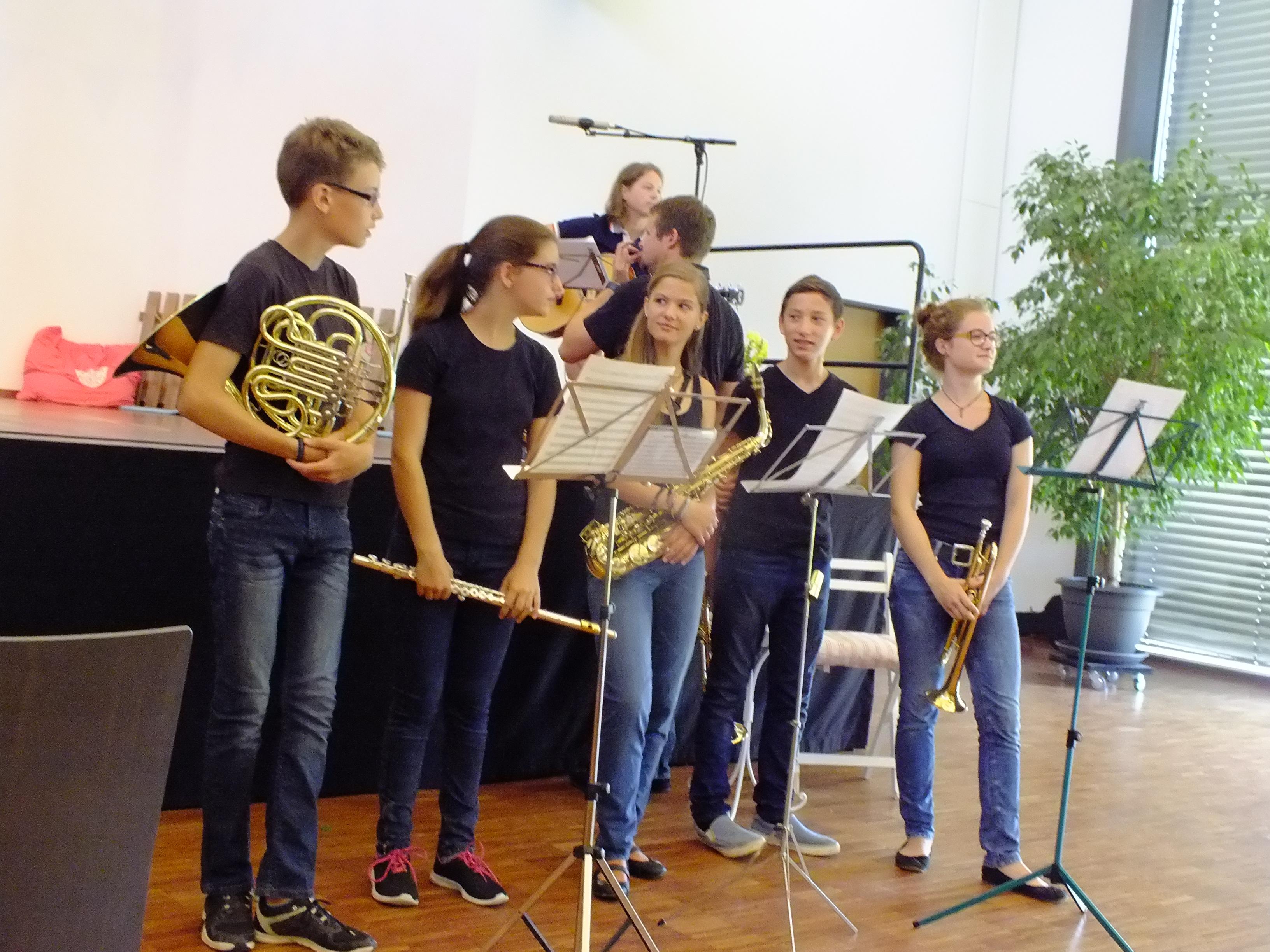 Jungmusiker Vom Musikverein