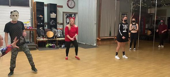 Halloween Themed Dance