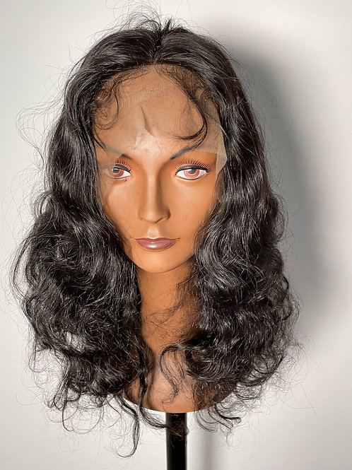 Lace wig ondulada