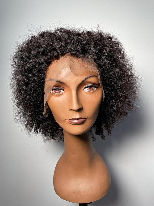 Lace wig cacheada 25 cm