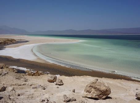 Best Beaches in Djibouti: Lac Assal (or Lake Asal)
