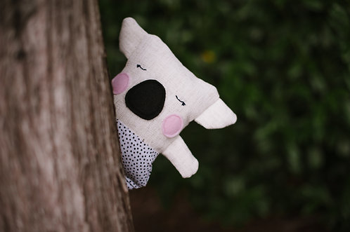 Linen Loves Koala - pink cheeks