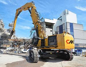 Оборудование для сноса зданий и сооружений