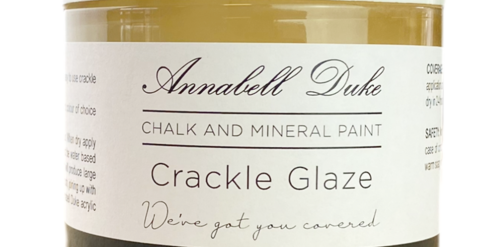 CRACKLE GLAZE - ANNABELL DUKE