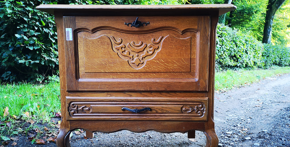 French Drop Down Cabinet