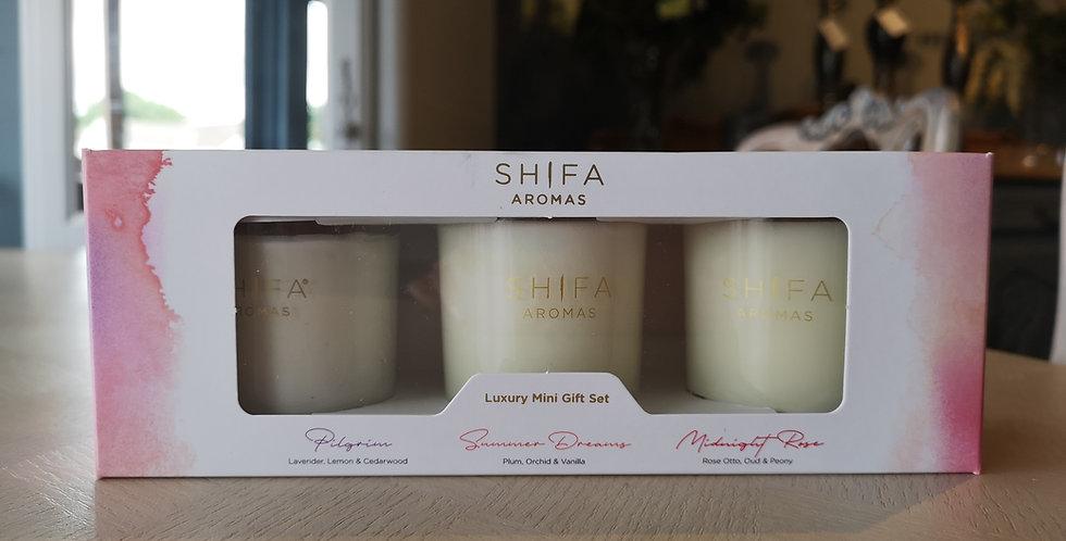 Shifa Triple Candle Gift Set