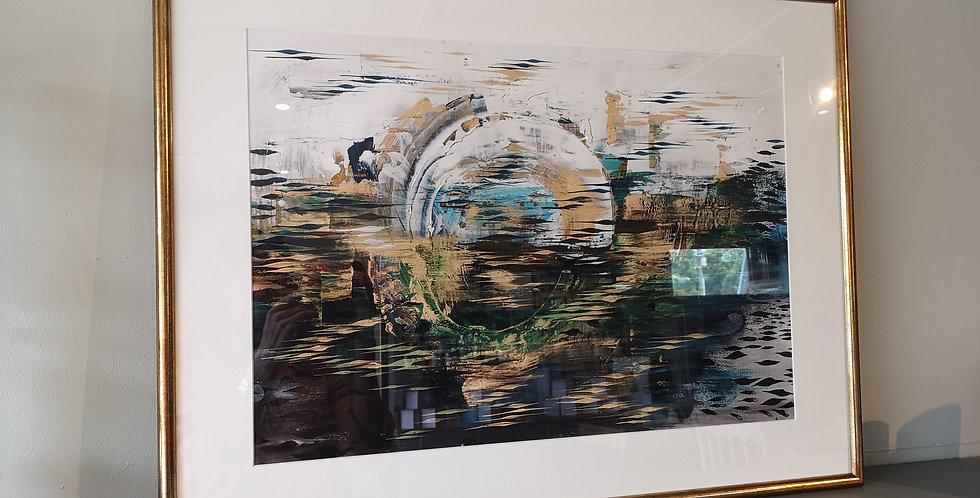 Framed Print Azure