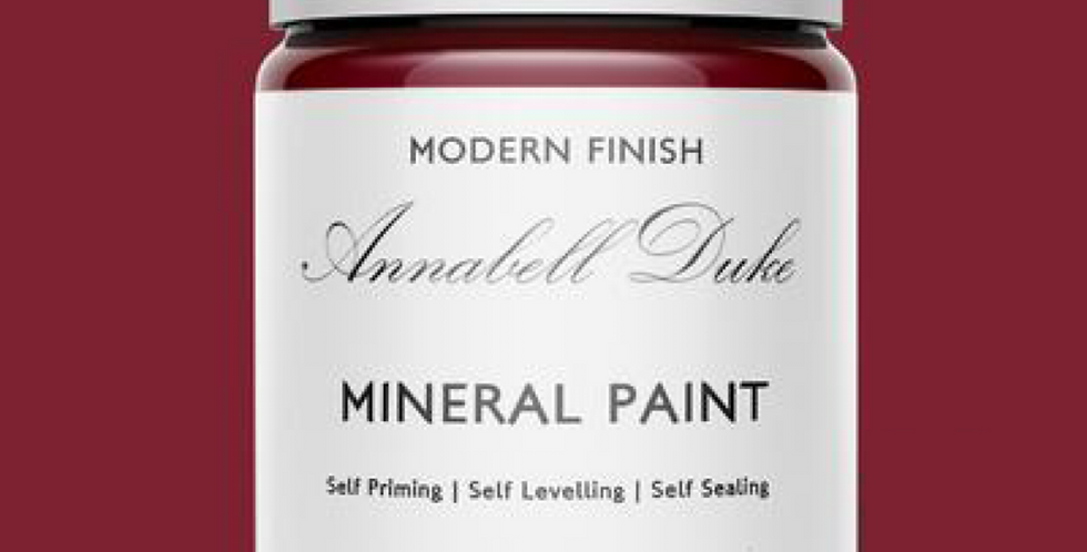 CARDINAL RED - ANNABELL DUKE MINERAL PAINT