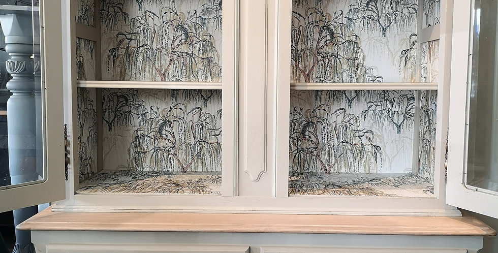 French Cabinet with Willow Design