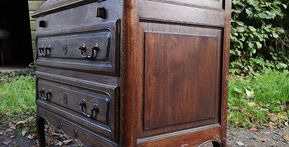 Oak French Writing Desk