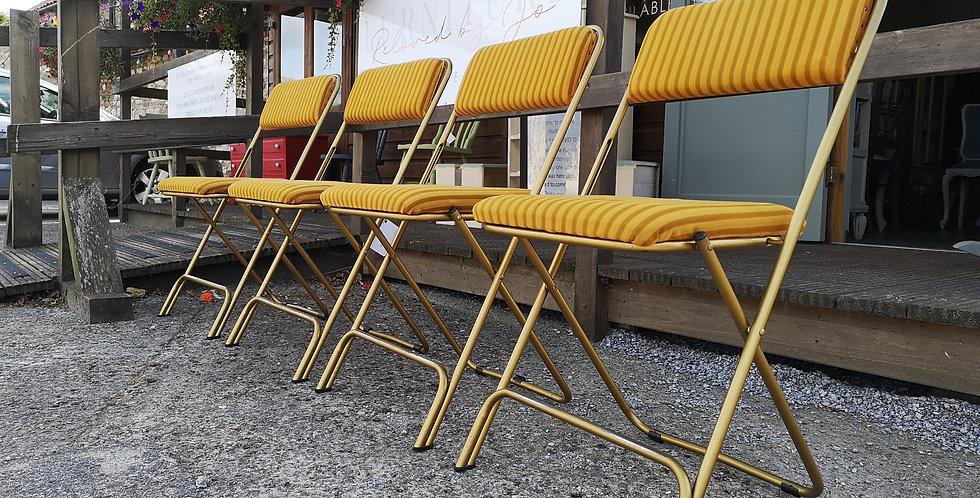 Folding Retro Chairs