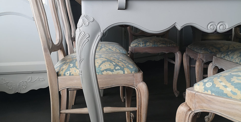 French Table & Chairs