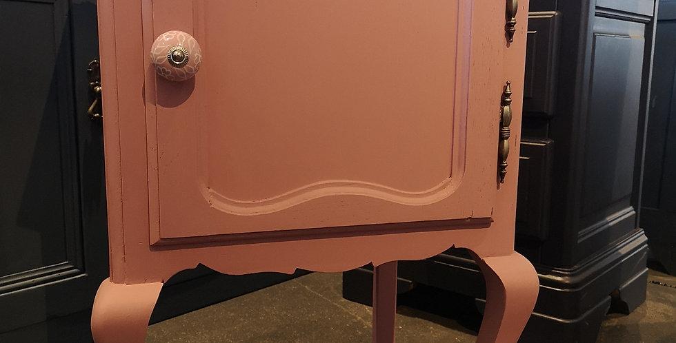 Pink Bedside Cabinet