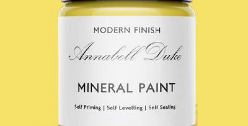 NEW ENGLAND YELLOW - ANNABELL DUKE MINERAL PAINT