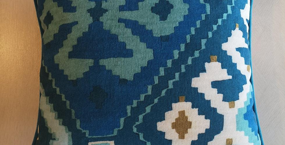 Velvet Print Cushion