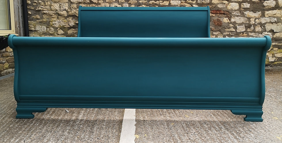 6ft Super King Sleigh Bed Frame