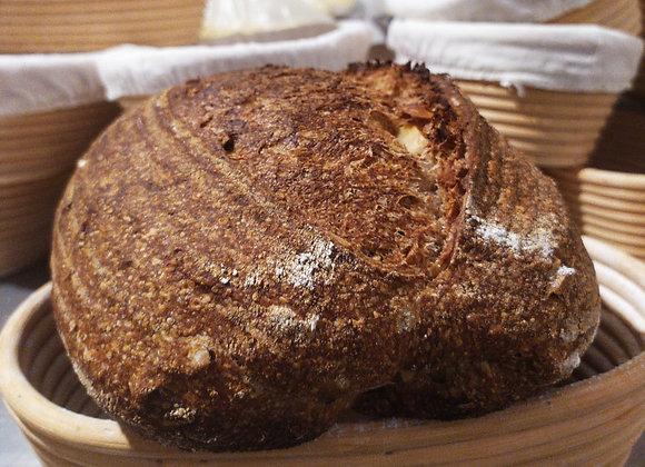 Pão integral com castanhas do Pará 700g