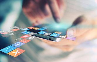 Social netværk koncept