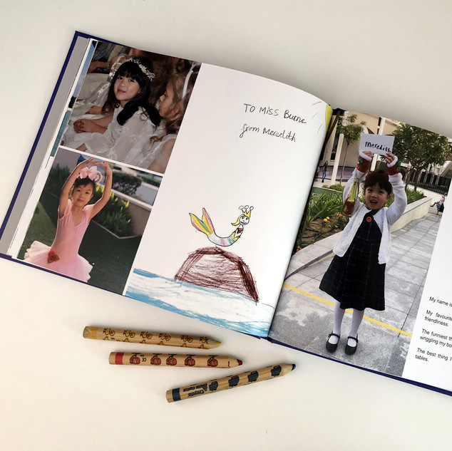 End of Year Class Books (for teachers with the possibility to order copies for the class)