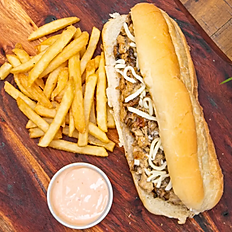 Chick's Philly sandwich