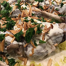 Mansaf and Lamb (serves 10)