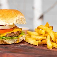 Cheezy Burger