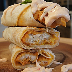 Chicken Zinger wrap