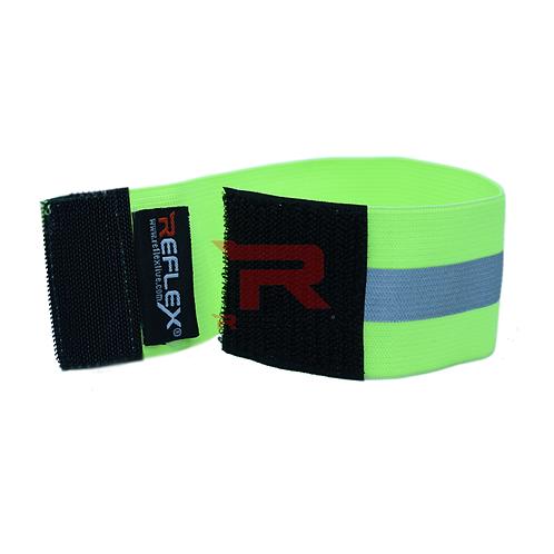 แถบผ้าสายรัดแขนสะท้อนแสง สีเขียวมะนาว REFLEX®RB-V01 Elastic Armband