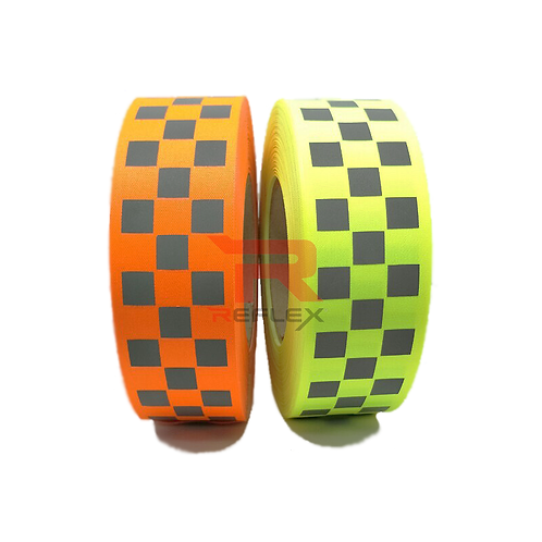 เเถบผ้าสะท้อนแสงลายหมากฮอตเล็ก REFLEX® RT-OX4003A