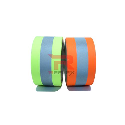 แถบผ้าสะท้อนแสงฟลูออเรสเซ้นต์ชนิดบาง REFLEX® RT-OX4003