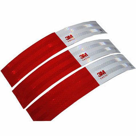สติ๊กเกอร์สะท้อนแสงขาวสลับแดง 3M™ HIP Grade™ 983D CHINA