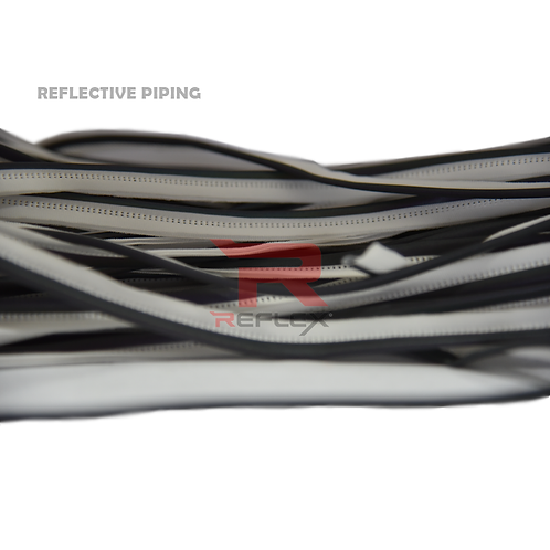 กุ้นสะท้อนแสงสำหรับเย็บติดเสื้อผ้าแฟชั่น REFLEX® RT-P203