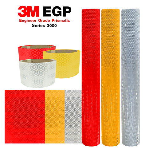 3M™ Engineer Grade Prismatic Reflective Sheeting Series 3000