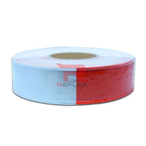 แถบพีวีซีสะท้อนแสงขาวสลับแดง REFLEX® RT-E983