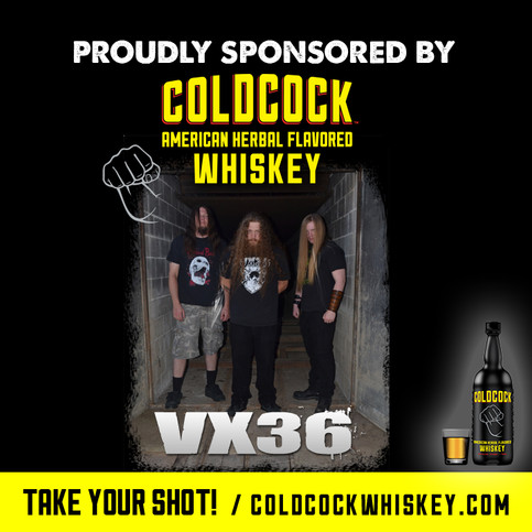 VX36 and ColdCock Whiskey together at last